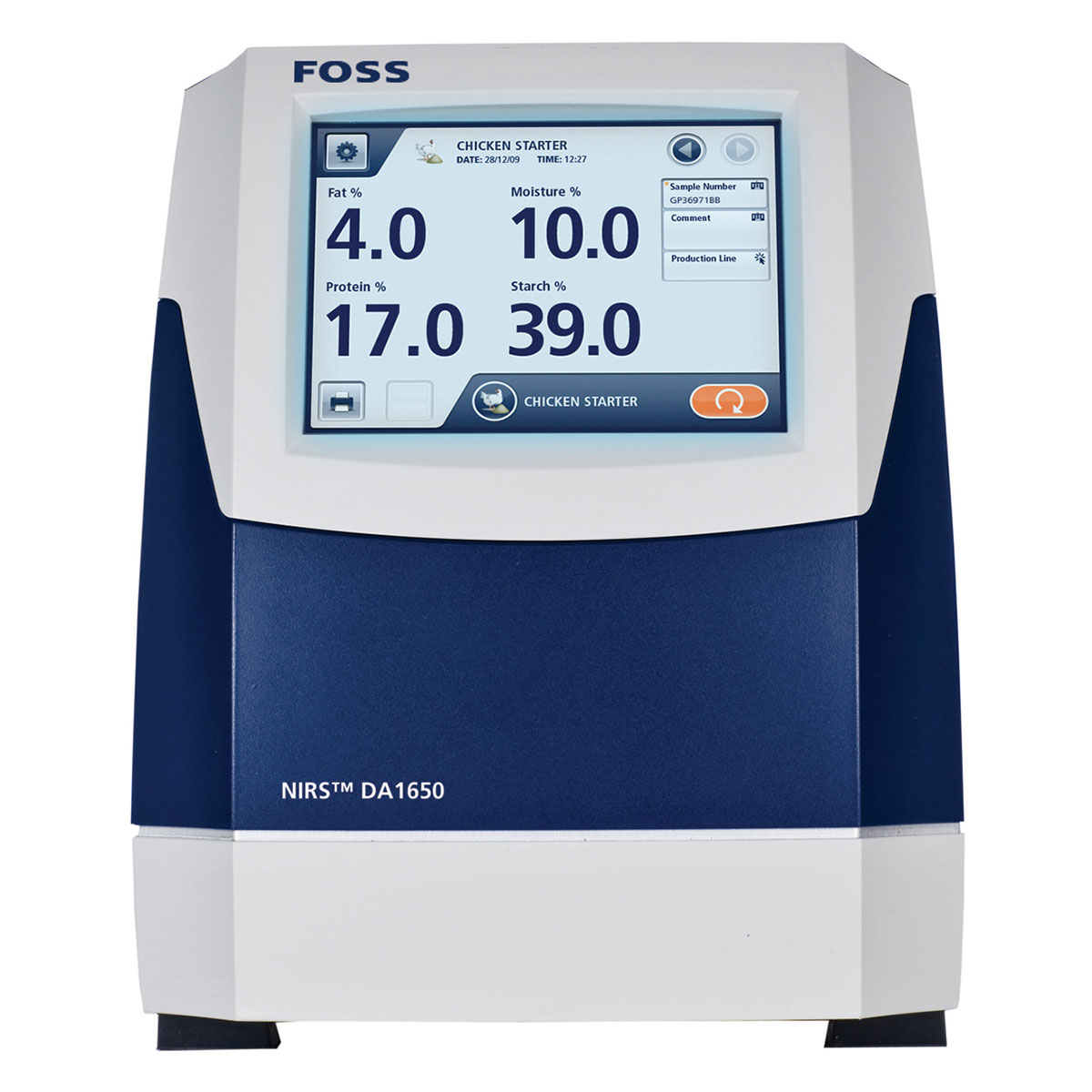 FOSS NIRS DA1650   Yem Analiz Cihazı   Tekafos